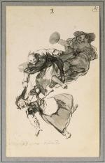 Francisco Goya (1746-1828), Bajan riñendo.