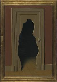 René Magritte, Het onverwachte antwoord, 1933, olie op doek, 82 x 54.4 cm. © Charly Herscovici, met zijn vriendelijke toestemming – c/o SABAM-ADAGP, 2009.