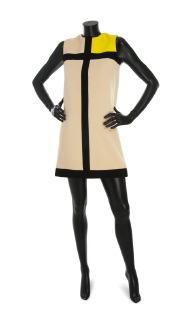A 'Mondrian Dress', Yves Saint Laurent, 1966. Foto: Christie's.