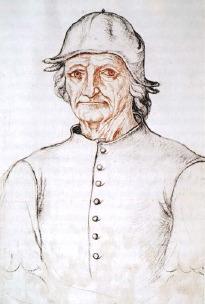 Jacques Le Boucq), Portret van Jheronimus Bosch, ca. 1550.