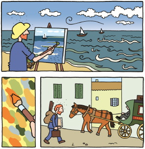 Barbara Stok tekent strip over Vincent van Gogh - Digitale Kunstkrant