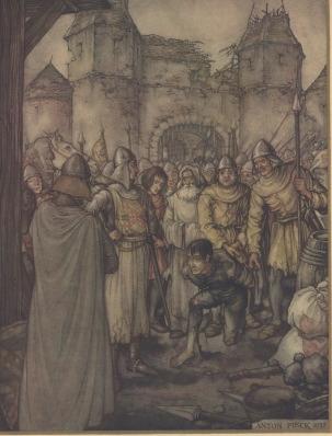 De tekening van Anton Pieck die werd getoond in Tussen Kunst & Kitsch. Foto: Anton Pieck Museum.