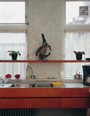Atomico van Marino Marini op een keukenplank. Foto: Jan van Esch.