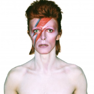 Foto voor albumhoes Aladdin Sane, 1973. Foto: Brian Duffy. © The David Bowie Archive and (under license from Chris Duffy) Duffy Archive Limited.