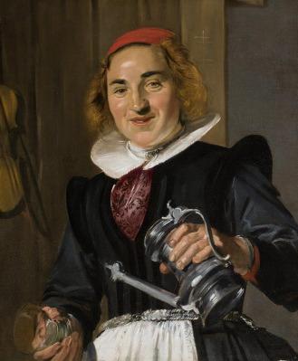 Frans Hals, De waardin, ca. 1623-1625. Foto: Rene Gerritsen.