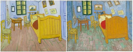 Slaapkamers verenigd in Van Gogh Museum - Digitale Kunstkrant