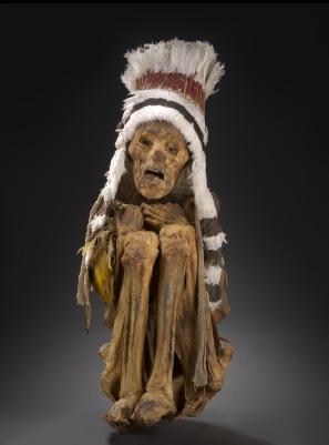 Mummie uit Peru.