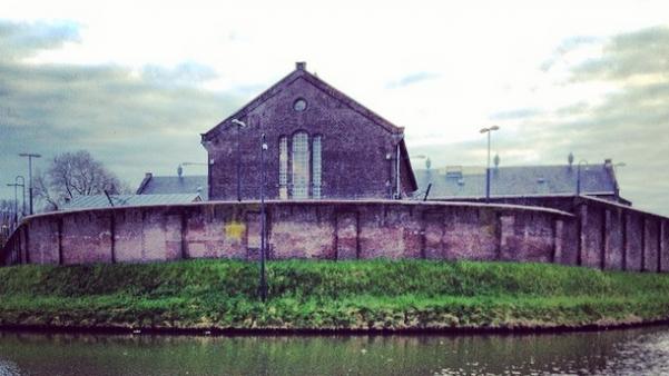 De voormalige gevangenis aan het Wolvenpein in Utrecht. Foto: Evert-Jan Pol.