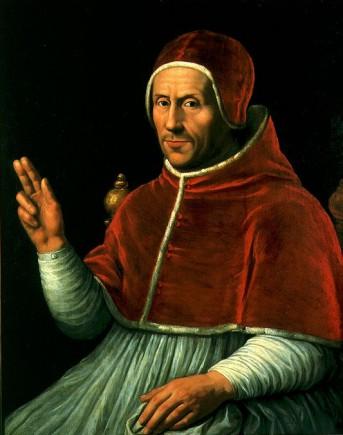 Kopie naar Jan van Scorel, Portret van paus Adrianus VI, 1625-1650, collectie Centraal Museum, Utrecht.