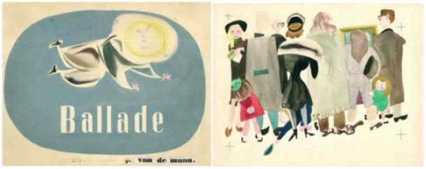 Illustraties van Marietje Witteveen.