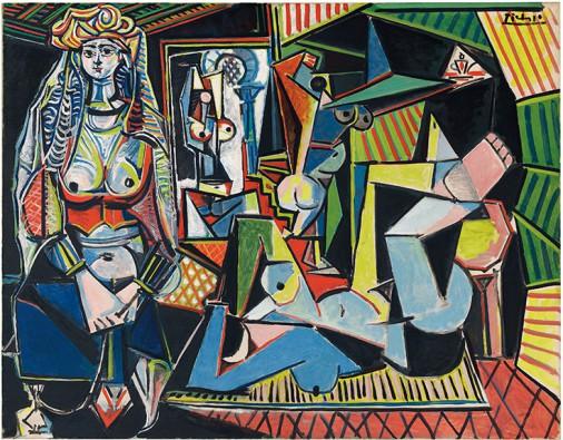 Pablo Picasso (1881-1973), Les femmes d'Alger (Version O). Foto: Christie's.