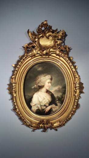 Johann Heinrich Schröder (1757-1812), Portret van een dame. Waarde: 15.000 euro.