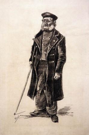 Vincent van Gogh, Oude man, 1882.