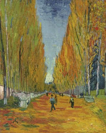 Vincent van Gogh (1853-1890), L'Allée des Alyscamps, 1 november 1888.