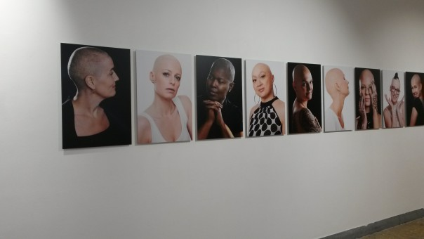 Portretten van Carolien Sikkenk. Foto: Marjolein Vos.
