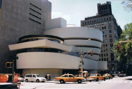 Het Guggenheim Museum in New York in 2000. Foto: Evert-Jan Pol.