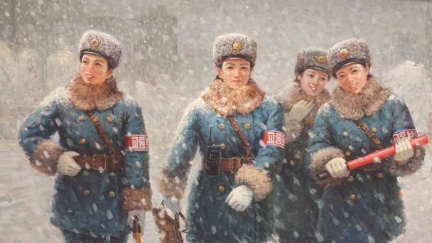 Kim Chŏng-t'ae, Zelfs op feestdagen, 1997. Foto: Evert-Jan Pol.