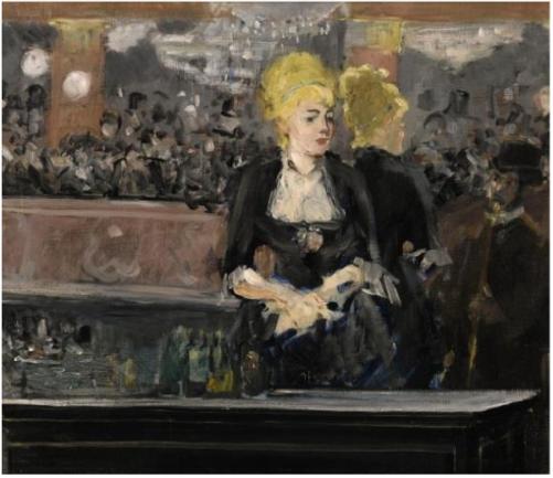 Édouard Manet (1832-1883), Le bar aux Folies-Bergère, 1881, olieverf op doek.
