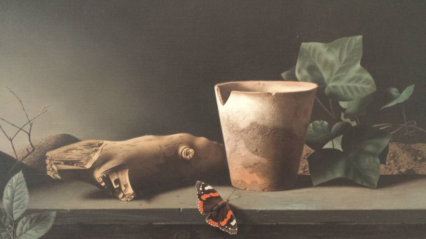 Raoul Hynkes, De vlinder (detail), 1935. Foto: Evert-Jan Pol.