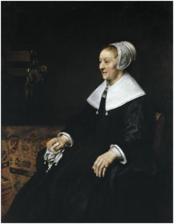 Rembrandt Harmenszoon van Rijn (1606-1669), Portret van Catrina Hooghsaet, 1657.