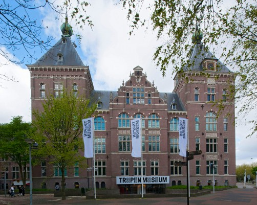 Het Tropenmuseum in Amsterdam.