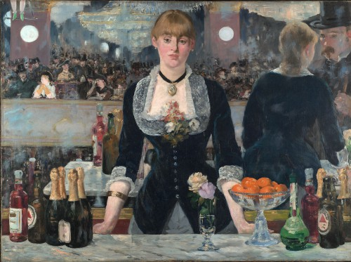 Édouard Manet (1832-1883), Un bar aux Folies-Bergère, 1882, olieverf op doek, collectie Courtauld Gallery, Londen.