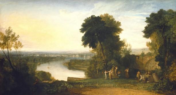 William Turner, Thomsons Aeolian Harp, 1809, olieverf op doek, Manchester City Galleries.