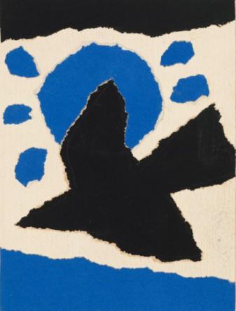 Dick Bruna, Omslagontwerp Zij zou op het eiland tegen hem zeggen van Françoise Xenakis, 1972 © Mercis bv.