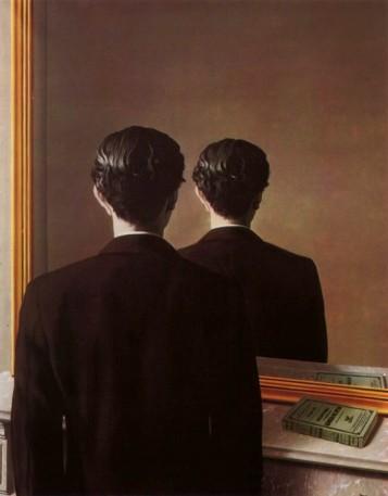 René Magritte (1898-1967), La réproduction interdite, 1937, collectie Museum Boijmans Van Beuningen, Rotterdam.