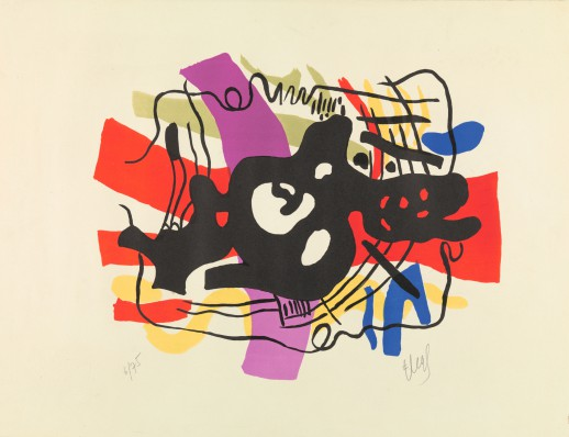Fernand Léger, La racine noire, 1948. Collectie Rijksmuseum.