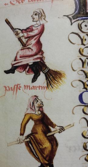 Des vaudoises, uit Le Champion des Dames, 1451, Bibliothèque nationale de France, Parijs. Foto: Evert-Jan Pol.