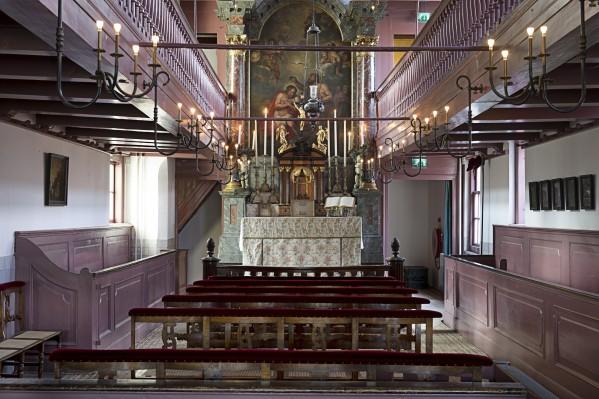 De zolderkerk. Foto: Arjan Bronkhorst.