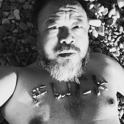 Ai Weiwei. Foto: Ai Weiwei op Instagram.