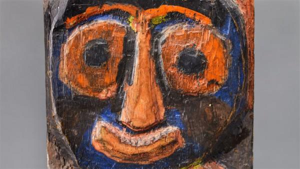 De vroege Karel Appel. Foto: Tussen Kunst en Kitsch.