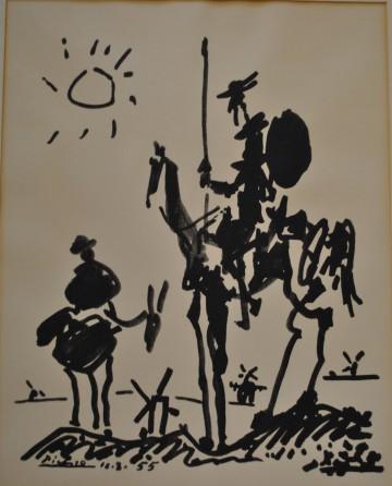 Pablo Picasso (1881-1973), Don Quixotte, 1955.