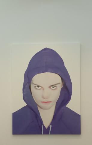 Indringend portret van Katinka Lampe. Foto: Evert-Jan Pol.