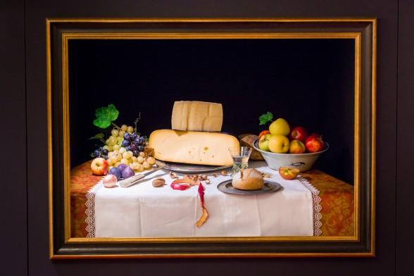 De eetbare versie van Floris van Dycks Ontbijtje.