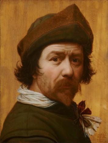 Huygh Pietersz Voskuyl, Zelfportret, ca. 1638, Mauritshuis Den Haag.