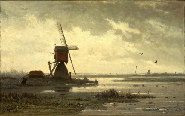 Schilderij van Paul Gabriël.