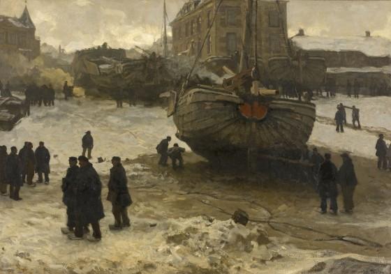 Schilderij van Willem Bastiaan Tholen.
