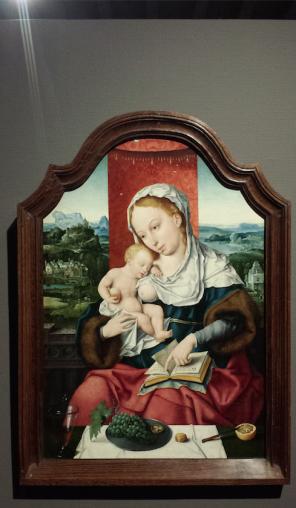 Joos van Cleve, Maria met kind, ca. 1525, Museum Catharijneconvent, langdurig bruikleen particuliere collectie. Foto: Evert-Jan Pol.