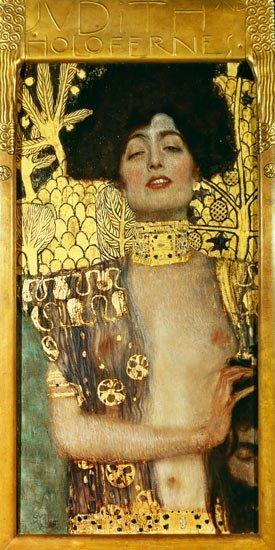 Gustav Klimt,  Judith 1, 1901, collectie Österreichische Galerie Belvedere, Wenen.