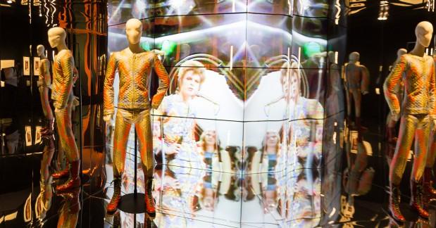 David Bowie is, in het Groninger Museum.