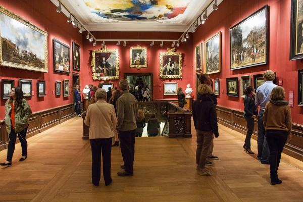 Eerste museumnacht in vernieuwde Mauritshuis. Foto: Michael Kooren.