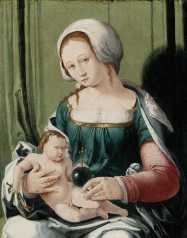 Lucas van Leyden, Madonna met Kind, ca. 1530, collectie Rijksmuseum, Amsterdam.