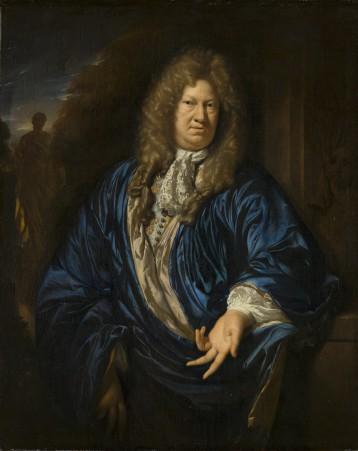Adriaen van der Werff, Portret van een man, 1689, Mauritshuis, Den Haag, te zien in de zaal van Sander van de Pavert.