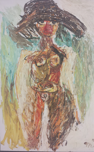 Karel Appel, Machteld (Nude Series).