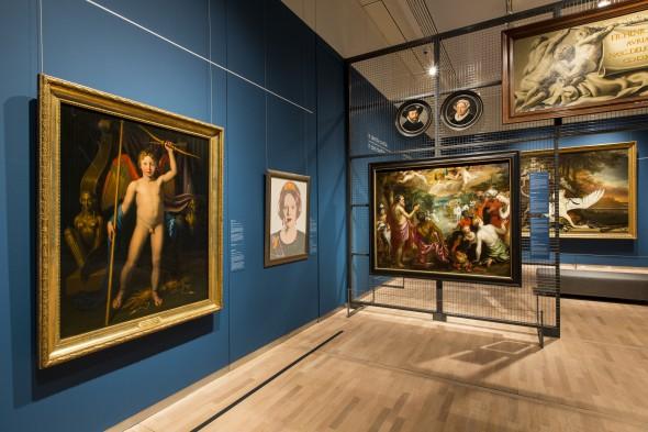 Tentoonstelling Hoogte- en dieptepunten uit het depot: Mauritshuis, Den Haag. Foto: Ivo Hoekstra.