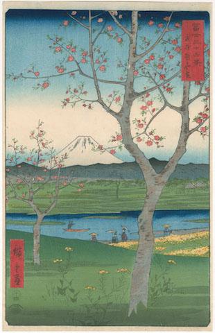 Werk van Utagawa Hiroshige.