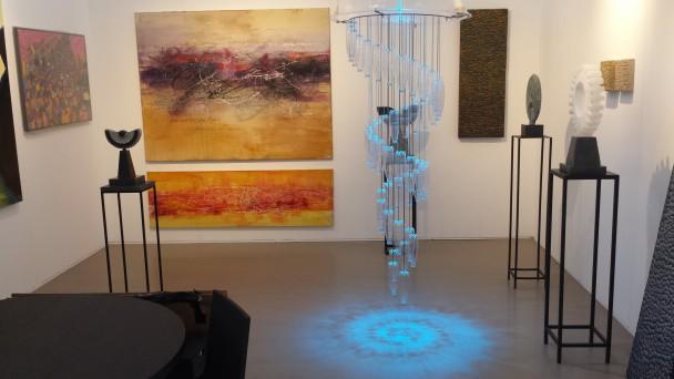 Stand van Kunstgalerie De Laro in Meerle.
